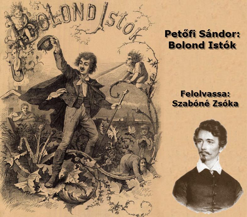 Petőfi Sándor: Bolond Istók - Hangoskönyv (Előadja: Szabóné Zsóka)