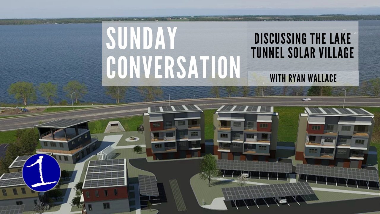 Ryan Wallace discusses Lake Tunnel Solar Village and the Solar Home Factory .::. Sunday Conversation Ep. #24