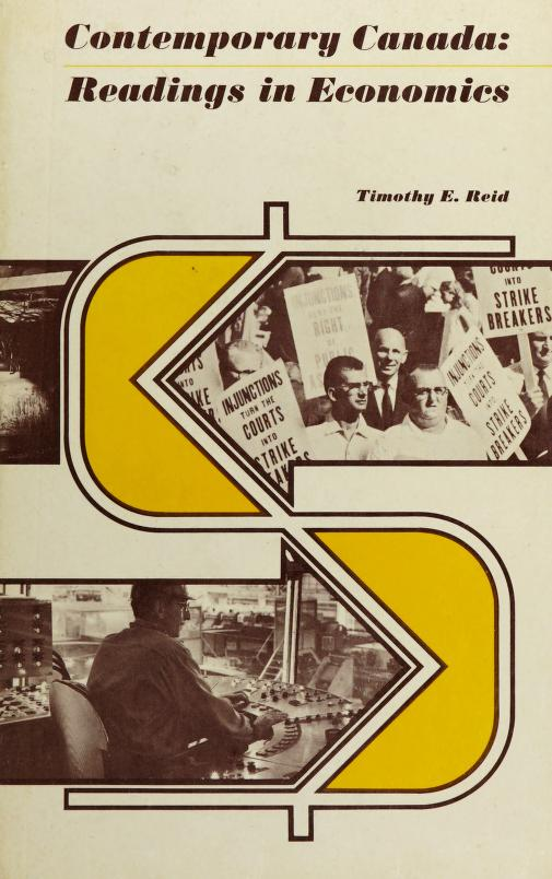 Contemporary Canada by Timothy Escott Herriot Reid