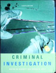 Cover of: Criminal Investigation by