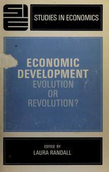Cover of: Economic development; evolution or revolution? | Laura Randall