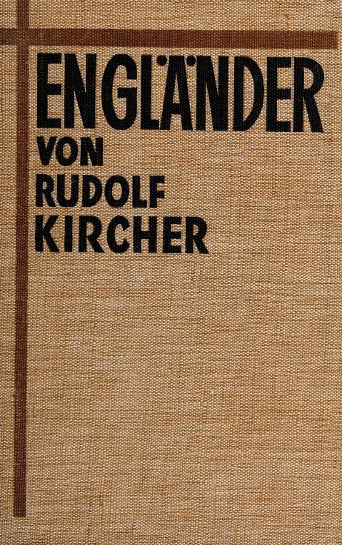 Engländer by Rudolf Kircher