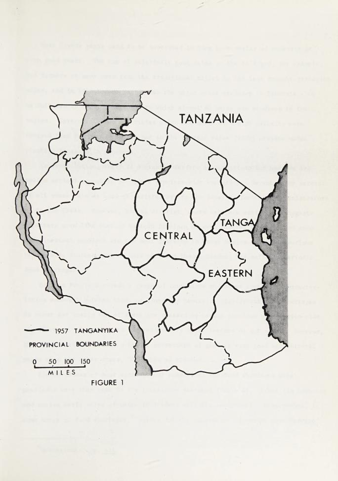 Human adjustment to agricultural drought in Tanzania by