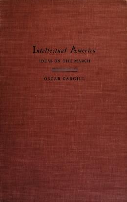 Cover of: Intellectual America | Oscar Cargill