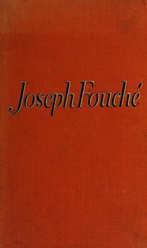 Cover of: Joseph Fouché | Stefan Zweig