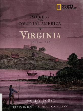 Cover of: Virginia, 1607-1776 | Sandy Pobst